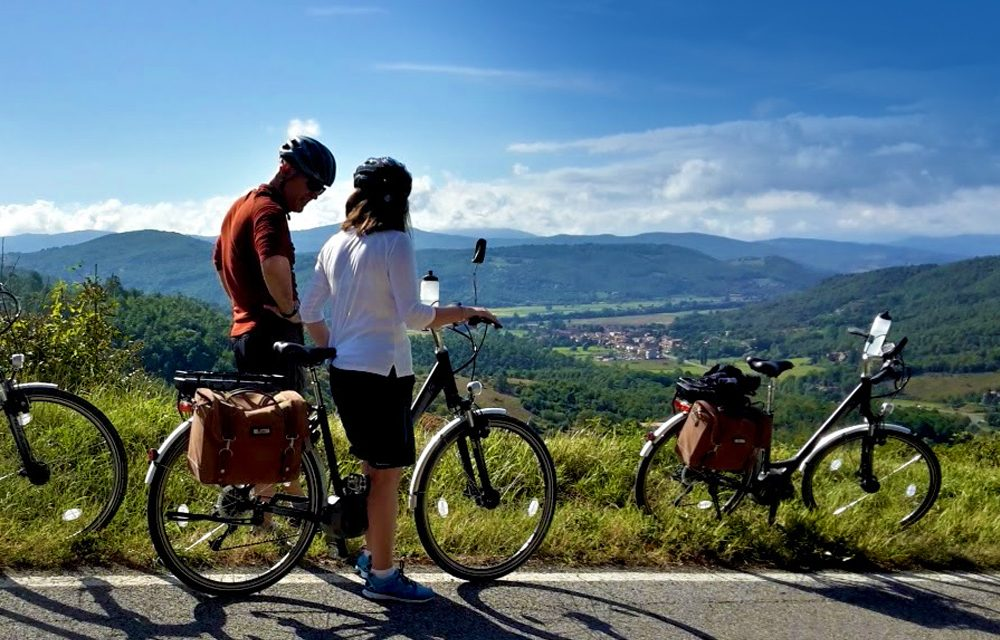 self guided umbria bike tour