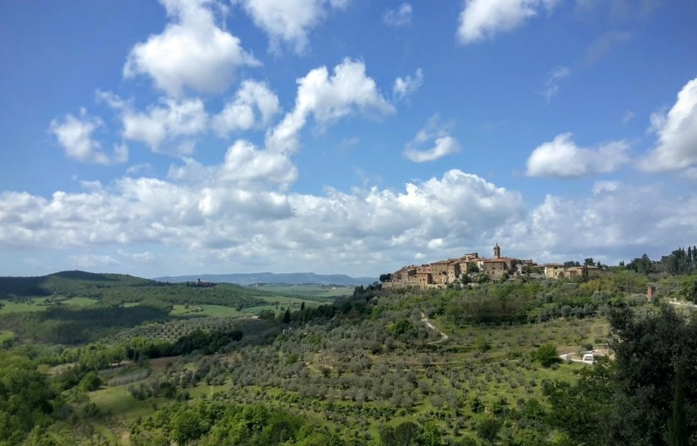 Tuscany bike tour pienza